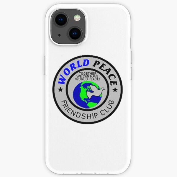 World Peace Friendship Club Phone Case 198601 iPhone Soft Case