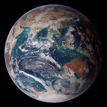 Blue Marble - Eastern Hemisphere by flashman