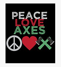 A Throwing Gift T Shirt Aes Peace Love Competition Men Photographic Print