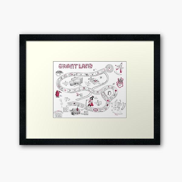 GrantLand : Writing a Proposal Never Tasted So Sweet Framed Art Print