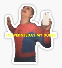 It's Wednesday my dudes Vine Sticker