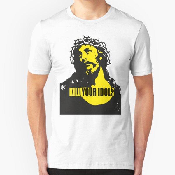 Kill Your Idols Axl Rose Jesus Slim Fit T-Shirt