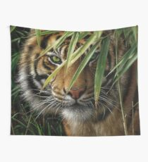 "Tiger ""Emerald Forest"" Wall Tapestry"