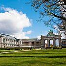 Parc Cinquantenaire - Brussels, Belgium by Alison Cornford-Matheson