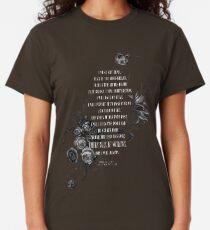 Bene Gesserit Litany Against Fear Classic T-Shirt