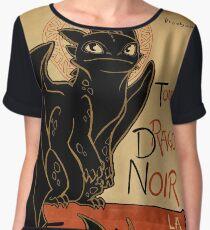 Le Dragon Noir Chiffon Top
