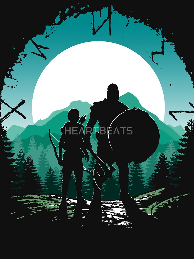 Kratos and son by HEARTBEATS