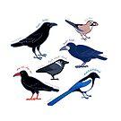 Crow-Familie von Großbritannien von Joumana Medlej