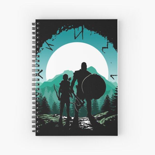 Kratos e hijo Cuaderno de espiral