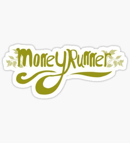 Moneyrunner T-Shirt 2 Sticker