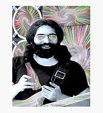 Jerry Garcia Sugar Rush Photographic Print