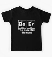 Beer The Essential Element Chemistry Pub Bbq Party Funny Father Bbq T-Shirts Kids Tee