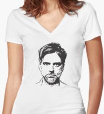 Paul Thomas Anderson- The Master Women's Fitted V-Neck T-Shirt