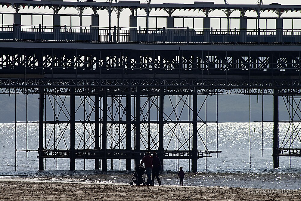 Under the pier by Steve plowman