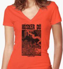 Hüsker Dü Celebrated Summer Women's Fitted V-Neck T-Shirt