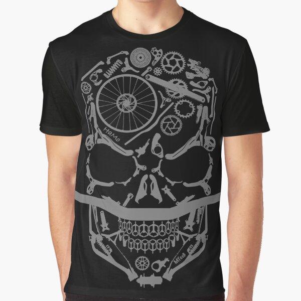 HaMo - grey, mountain biking skulls new zealand t-shirt,  Graphic T-Shirt