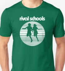 Rival Schools Logo White Unisex T-Shirt