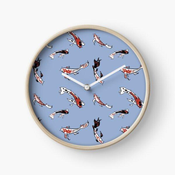 Carpes Koï Horloge