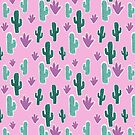 Candy Desert #redbubble #cacti by designdn