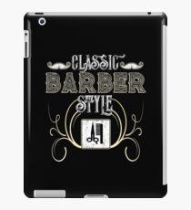 Classic Barber iPad Case/Skin