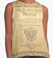 Shakespeare. Much adoe about nothing, 1600 Contrast Tank