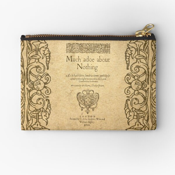 Shakespeare. Much adoe about nothing, 1600 Bolsos de mano