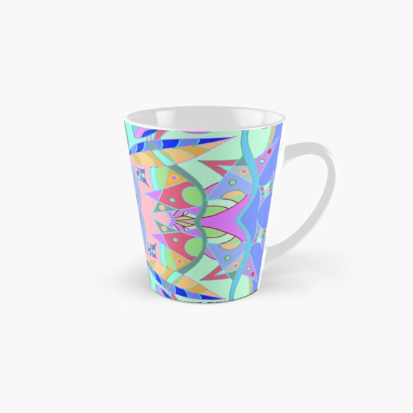 The earth song of leaves -blue Tall Mug