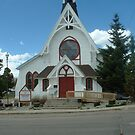 Church in Leadville, Colorado by janetmarston
