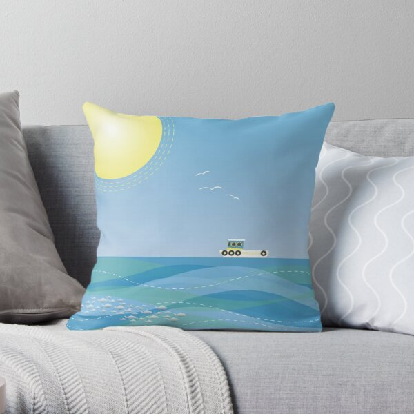 You Shall Have a Fishy Throw Pillow