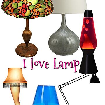 i love lamp by robvmcdonald