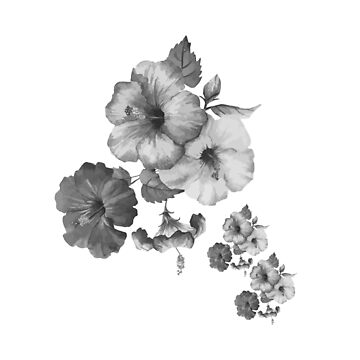 Mono Floral A by Rosh
