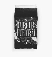 """Funda nórdica Tipografía """"No Mourners. No Funerals"""""""