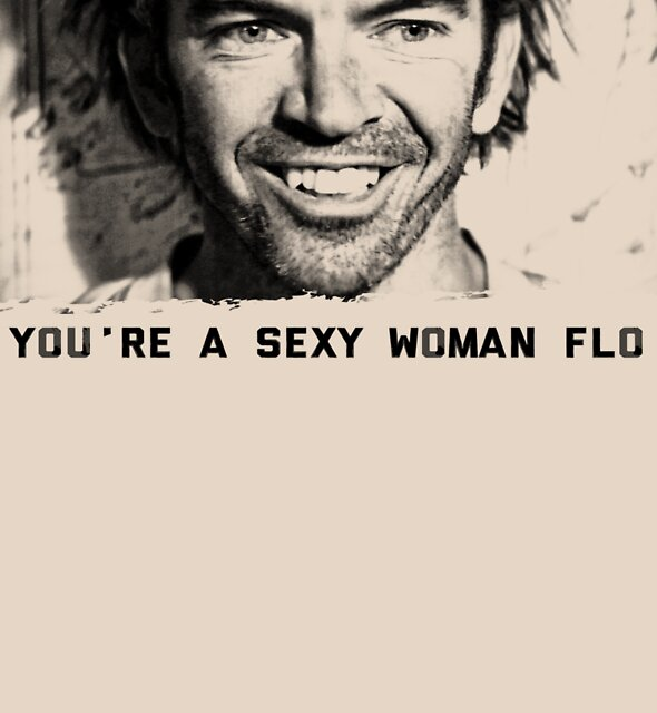 You're a sexy woman flo! by GarthFader
