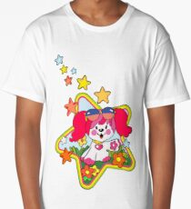 Retro Pink Poochie 80s Long T-Shirt