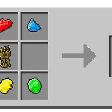 Infinity Glove Crafting Recipe by TopsFantasy