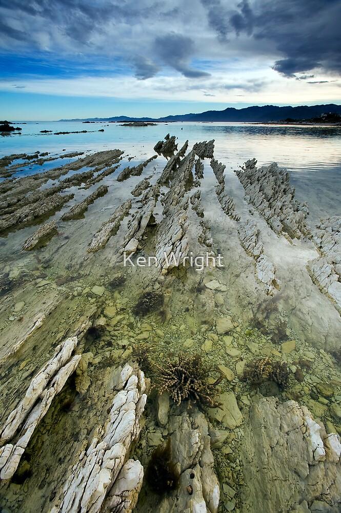 Limestone Ribs by Ken Wright