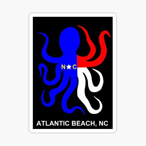NC Octopus (Atlantic Beach, NC) Sticker