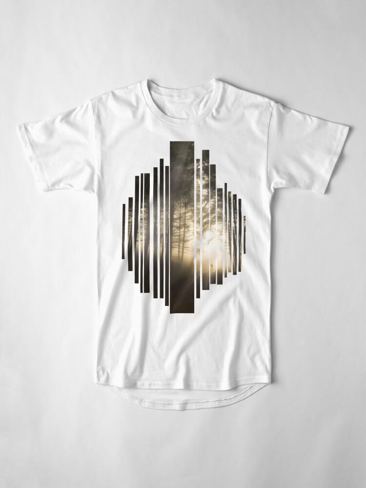 T-shirt long ''Perdu dans la Brume': autre vue