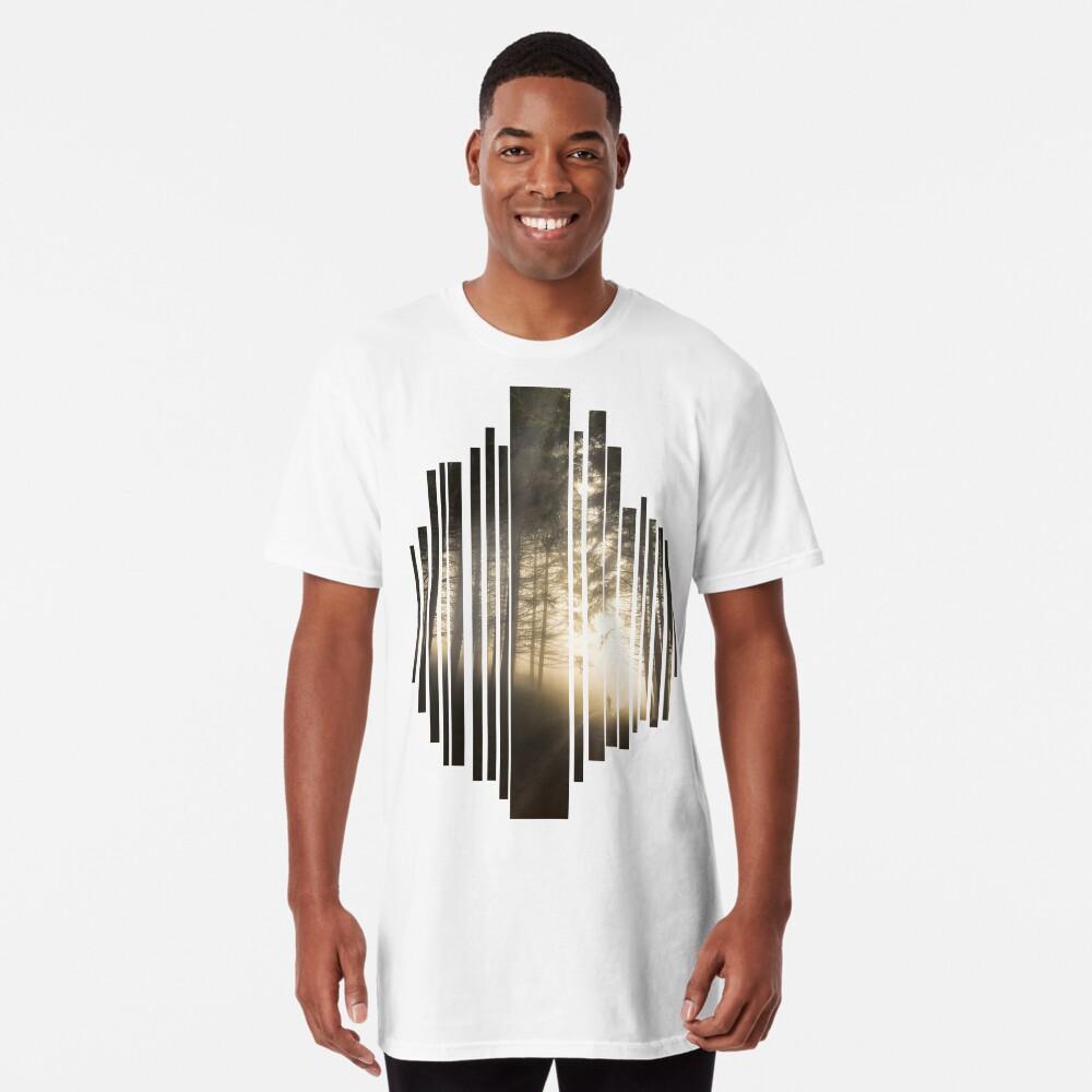 T-shirt long «Perdu dans la Brume»