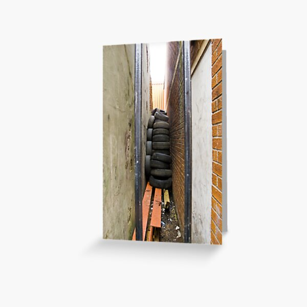 Spare Tyres Greeting Card