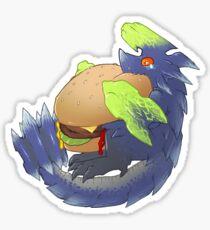Brachydios can has cheeseburger  Sticker