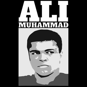 """ALI MUHAMMAD"" white by fares-junior"
