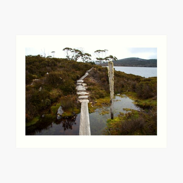 Lake Will Side Trip, Overland Track, Tasmania Art Print