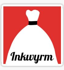 Inkwyrm Logo Sticker