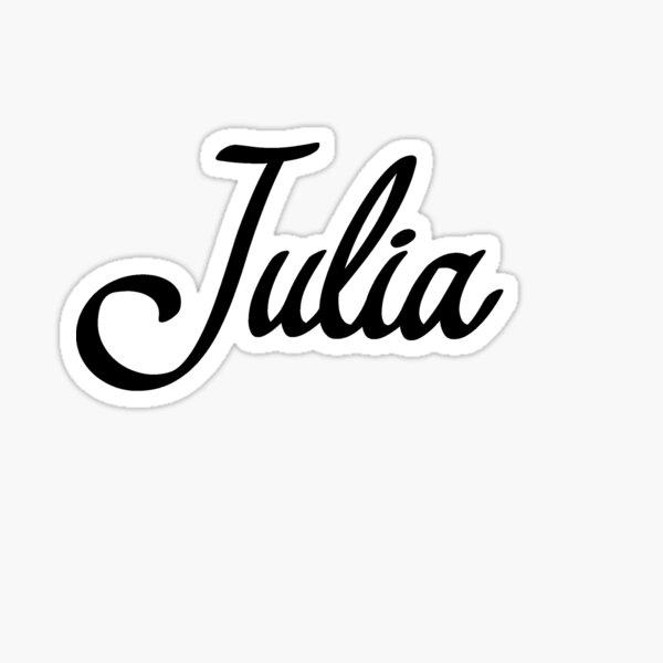Children/'s Name Sticker Books Aaron-Julia