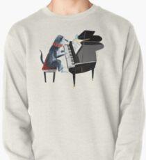 Piano lesson (Doggy Art) Pullover