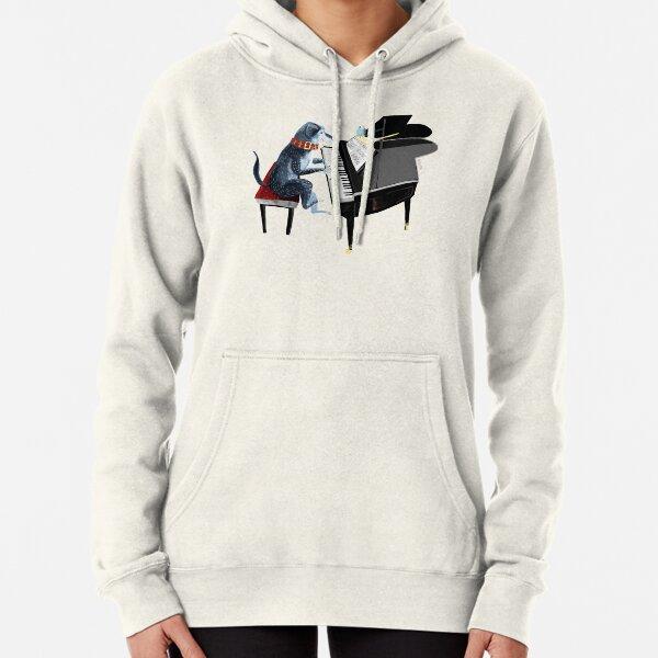 NICYA Ferret and The Moon Pullover Hooded Sweatshirt Fashion Hoodies Big Pockets