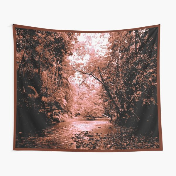 THE COPPER COLOURED CREEK Tapestry