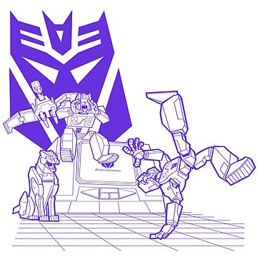 Decepticon Breakdance by SW-Illustration
