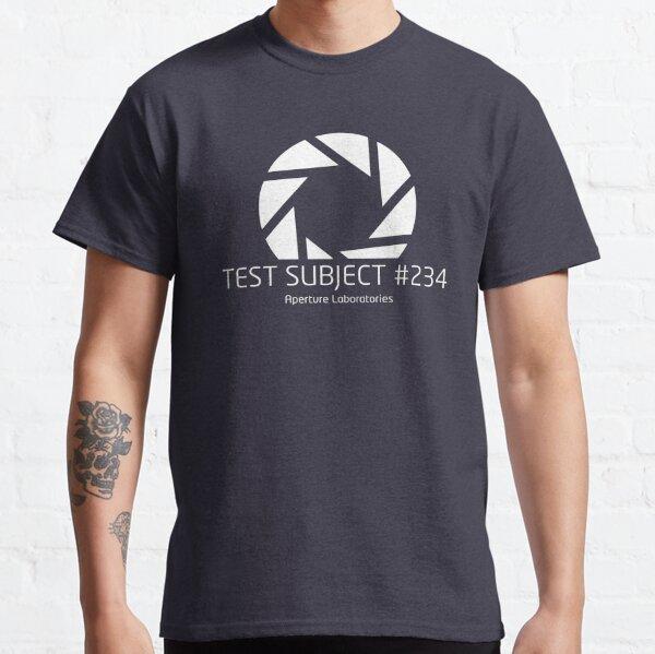 Portal - Test Subject #234 Classic T-Shirt